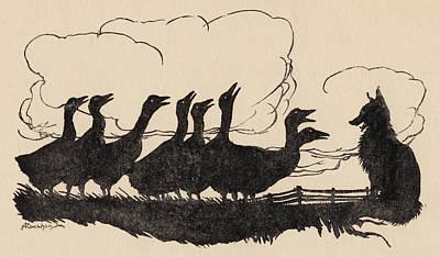 Illustration By Arthur Rackham From Print by Vintage Design Pics