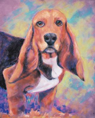 I'm All Ears Ears Print by Billie Colson