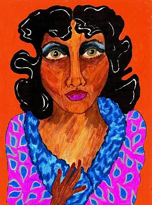 Harlem Drawing - I'm Millie by Stacey Torres