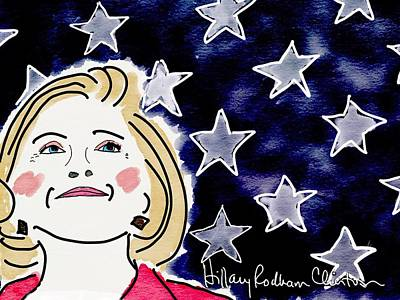 Hillary Clinton Mixed Media - I'm With Her by Jim Smith