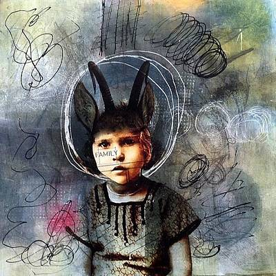 Mixed Media - Imagination Station by Susan McCarrell