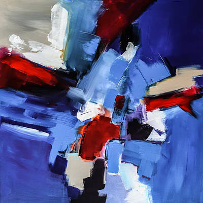 Abstraction Painting - Imagine - Art By Elise Palmigiani by Elise Palmigiani