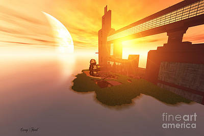 Imagine Print by Corey Ford