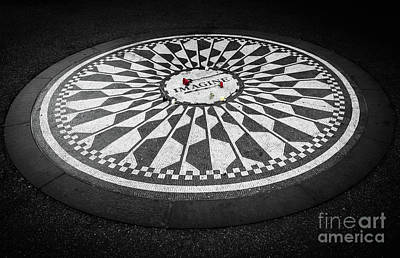 Strawberry Fields Photograph - Imagine by Inge Johnsson