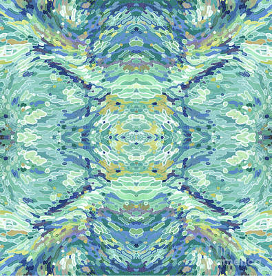 Juul Painting - Imagining Mandala by Margaret Juul