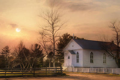 Immaculate Conception Church Print by Lori Deiter