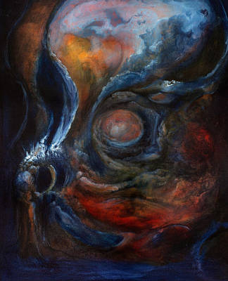 Contemplative Painting - Immure by Trevor Stephen Smith