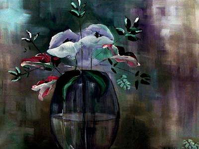 Impressionism Painting - Impatient Painterly Floral by Lisa Kaiser