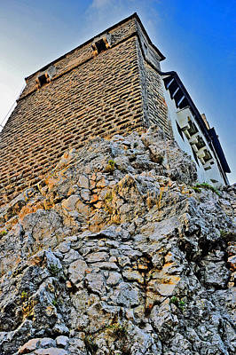 Impregnable Wall. Bran Castle - Dracula's Castle. Original by Andy Za