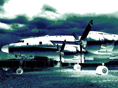 Airliners Digital Art - Impressions 7 by Will Borden