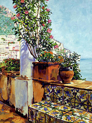 Riviera Painting - Impressions Of The Riviera by David Lloyd Glover