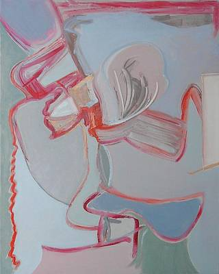 Non-objective Painting - Visual Jazz #16 by Philip Rader