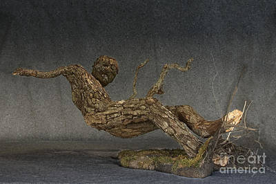 Fantasy Tree Mixed Media - In An Instant A Sculpture By Adam Long by Adam Long