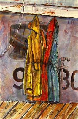 In Case Of Rain Original by Shirley Sykes Bracken
