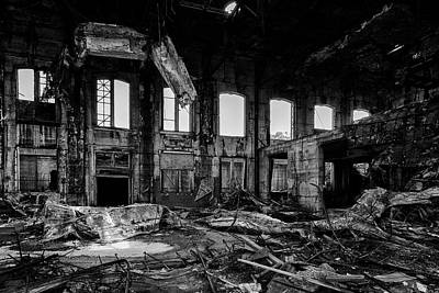 In Desolation Print by CJ Schmit