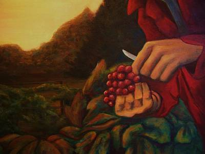 Pruning Painting - In Late Harvest by Dana Rothrock