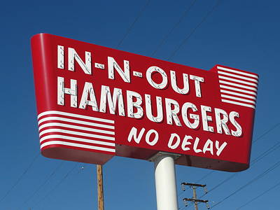 In-n-out Sign Print by Randy Dyer