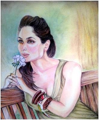 Kareena Kapoor Painting - In Nature's Arms by Rafath Khan