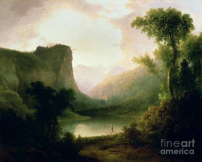 1835 Painting - In Nature's Wonderland by Thomas Doughty