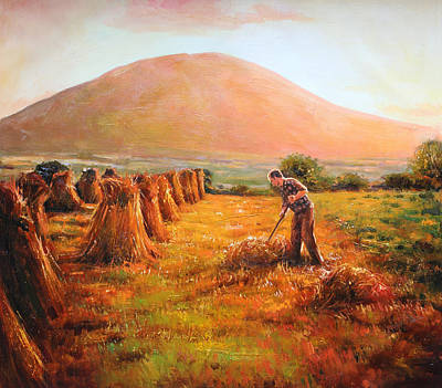 In Nephin's Shadow, Co. Mayo Original by Conor McGuire