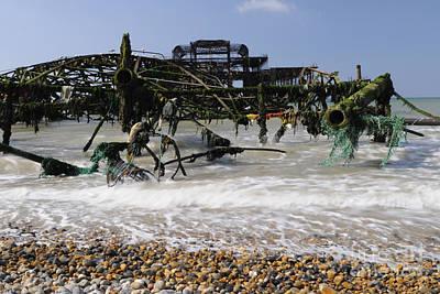 Brighton Photograph - In Pieces by Nichola Denny
