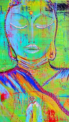 Inner Self Painting - In Prayer by Francesca Heyer