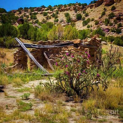 In Ruins Print by Jon Burch Photography