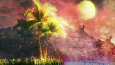 Art Mobile Digital Art - In Silhouette by Eddie G