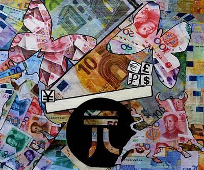 Finance Mixed Media - In The Balance by John  Nolan