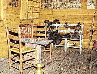 In The Barn Print by Susan Leggett