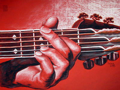 In The Chord Of G Print by Patrick Parker
