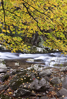 Smokey Mountains Photograph - In The Distant Fall by Jon Glaser