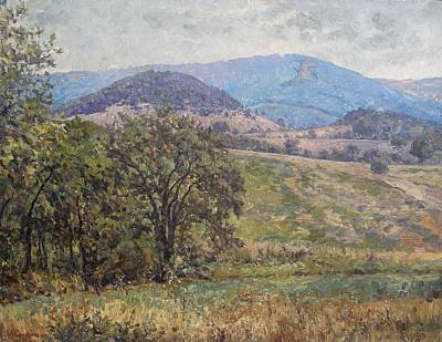 Tree Painting - In The Foothill Of The Balkans by Andrey Soldatenko
