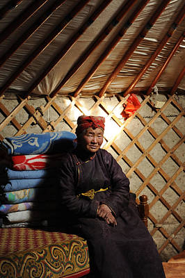 Yurts Photograph - In The Ger by Jessica Rose