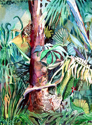 In The Jungle Print by Mindy Newman