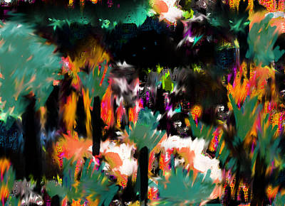 Abstract Art Painting - In The Little Kingdom  by Paul Sutcliffe