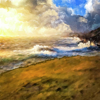 Ireland Mixed Media - In The Moment by Mark Tisdale