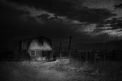 Haunted House Photograph - In The Night Series 3 by Ami Poindexter