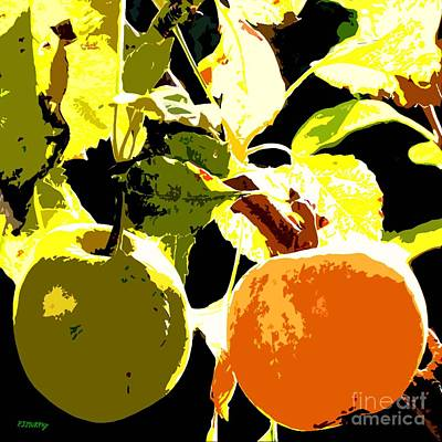 In The Orchard Print by Patrick J Murphy