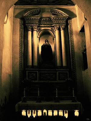Catholicism Digital Art - In The Sanctuary by Glenn McCarthy Art and Photography