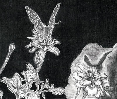 In The Shadow Of His Wings Print by Joy Neasley