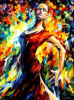 Ballet Painting - In The Style Of Flamenco by Leonid Afremov