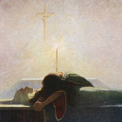 In The Tower Of London Print by Newell Convers Wyeth