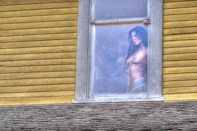 Old House Photograph - In The Window by Naman Imagery
