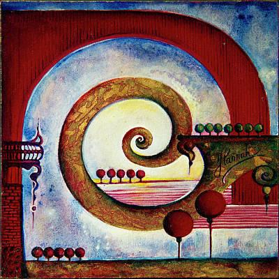 In The World Of Balance Original by Anna Ewa Miarczynska