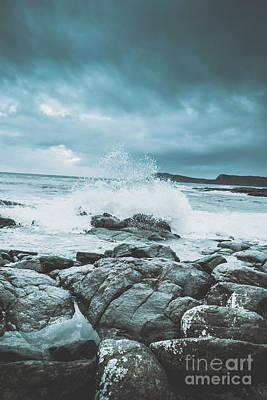 Grey Clouds Photograph - In Wake Of Storms by Jorgo Photography - Wall Art Gallery