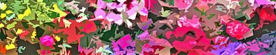 Abstract Digital Art - Incidental Display by Linda Mears