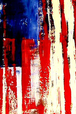 Star Spangled Banner Mixed Media - Independence Day by Charles Jos Biviano