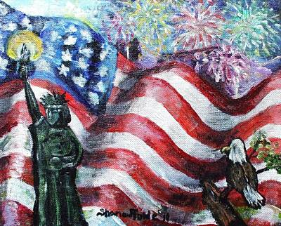 Independence Day Print by Shana Rowe Jackson