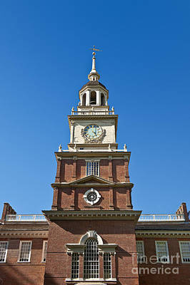 Independence Hall Print by John Greim